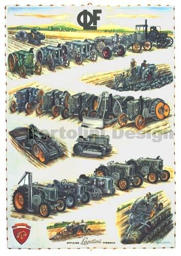 De Landini-collectie van 1910 tot 1959